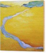 Carmel River Wood Print