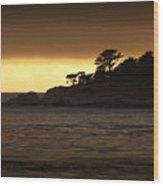 Carmel Sunset Wood Print