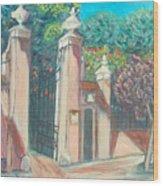 Carmelite Monastery Wood Print