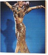 Carmen Miranda Wood Print