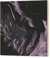 Carmen Wood Print by Richard Young