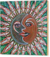 Carnavale Sunset Wood Print