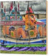 Carnival At Crocker Park Wood Print