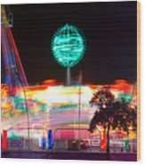 Carnival Excitement Wood Print by James BO  Insogna