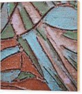 Carnival Headdress Tile Wood Print