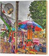 Carnival Life 2 Wood Print
