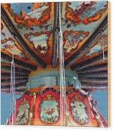Carnival Mushroom Wood Print