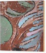 Carnival Tile Wood Print