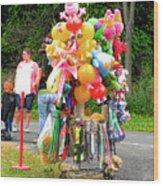Carnival Vendor 3 Wood Print