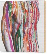 Carnival1 Wood Print