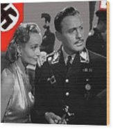 Carole Lombard Jack Benny To Be Or Not To Be 1942-2015 Wood Print