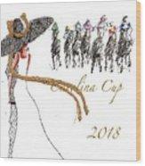 Carolina Cup  Wood Print