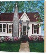 Carolina Home Wood Print