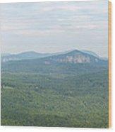 Carolina Mountain View Wood Print