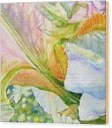 Carols-iris-i Wood Print