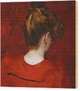 Carolus Duran Study Of Lilia Wood Print