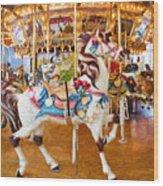Carousel Dreams II Wood Print