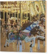 Carousel Horse 3 Wood Print