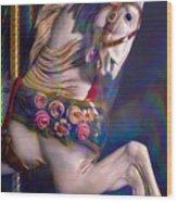 Carousel Memories Wood Print