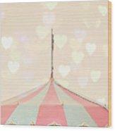 Carousel Tent Wood Print