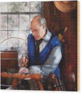 Carpenter - The Woodturner Wood Print