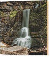 Carpenter Falls Wood Print