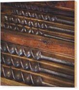 Carpentry - Tool - Archimedes Little Helper  Wood Print