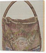 Carpet Bag Wood Print