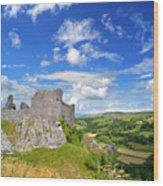 Carreg Cennen Castle 1 Wood Print