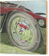 Carrera Chrome Wood Print