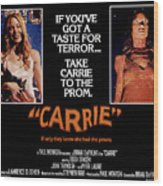 Carrie, Sissy Spacek, 1976 Wood Print