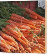 Carrot Bounty Wood Print