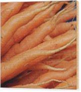 Carrot Market Bergen Wood Print