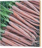 Carrots, Harvest Wood Print