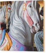 Carrousel 25 Wood Print