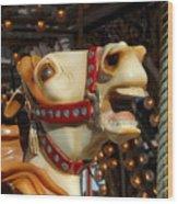 Carrousel 40 Wood Print