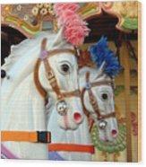 Carrousel 53 Wood Print