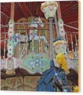 Carrousel 57 Wood Print