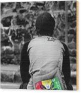 Carrying Colors Wood Print