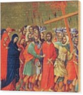 Carrying Of The Cross 1311 Wood Print