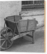Cart For Sale II Wood Print