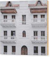Cartagena De Indias Wood Print