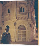 Cartagena Watchman Wood Print