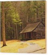 Carter Shields Cabin Wood Print