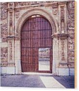 Carthusian Monastery Granada Wood Print