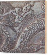 Carved Dragon Wood Print