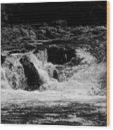 Cary Falls Wood Print
