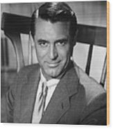Cary Grant (1904-1986) Wood Print by Granger