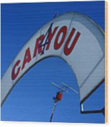 Caryou Wood Print
