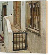 Casa De Crema Wood Print